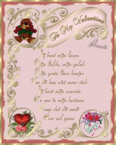 Valentijns Gedicht