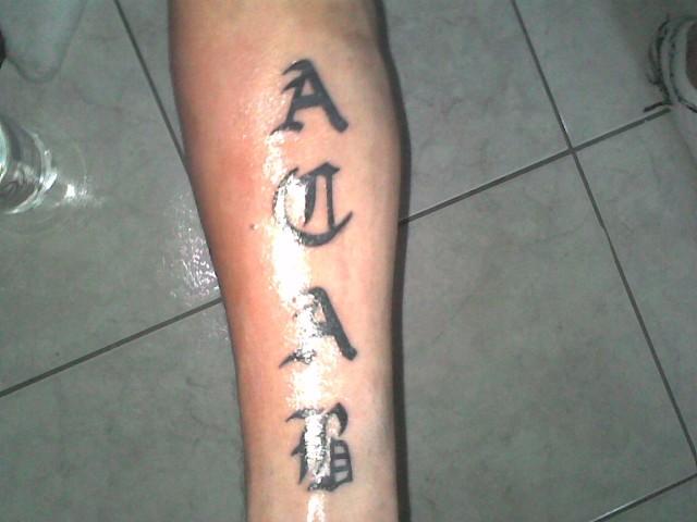 Tattoo Op Onderarm Albumelement