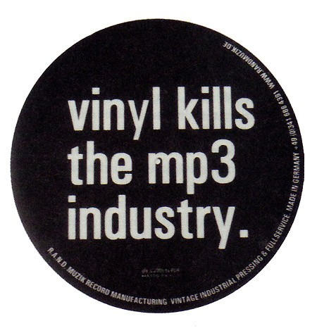 Vinyl kills the MP3 industry