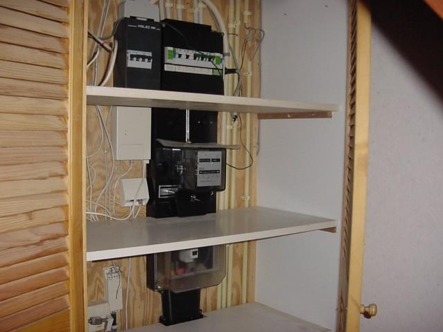 Meterkast met plank  u00b7 albumelement