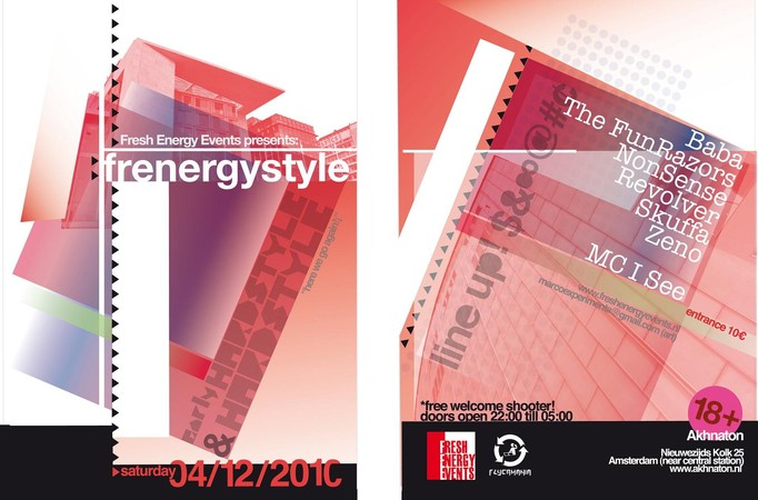"Zaterdag 4 december // ""Frenergystyle, Here we go again!"""